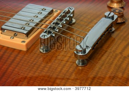 Guitar Pickup, Bridge And Tailpiece