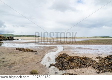 Carn Beach At The Sheskinmore Nature Reserve Between Ardara And Portnoo In Donegal - Ireland