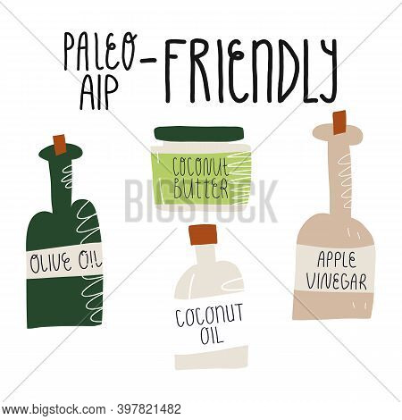 Paleo And Aip Friendly, Anti-inflammatory Nutrition Compatible . Olive And Coconut Oils And Butter,