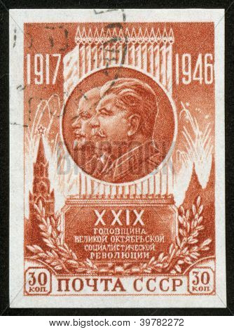 Stamp With Stalin