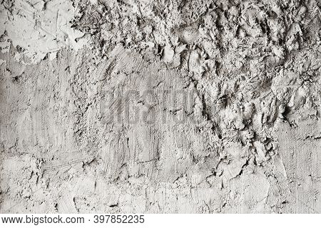 Rough Abstract Texture Of Concrete Or Cement Surface For Background Or Wallpaper