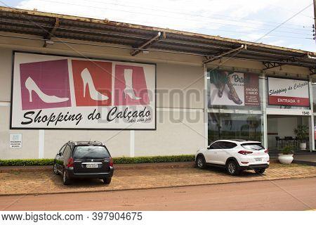 Jau / Sao Paulo / Brazil - 02 21 2020: Footwear Shopping (