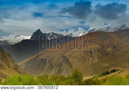 Himalayan Mountain Of Tiger Hill Or Tiger Point, War Zone Of Kargil War 1999, Operation Vijay, Fough