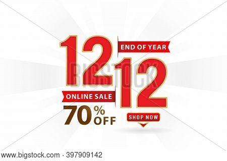 Sale 12.12 70 % Off