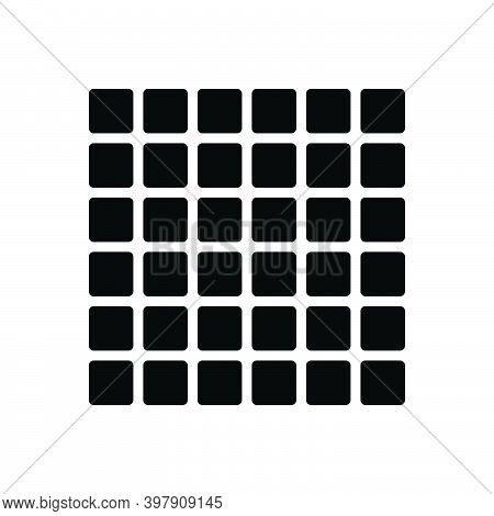 Black Solid Icon For Multiple Various Different Varied Diverse Several Collective Pattern