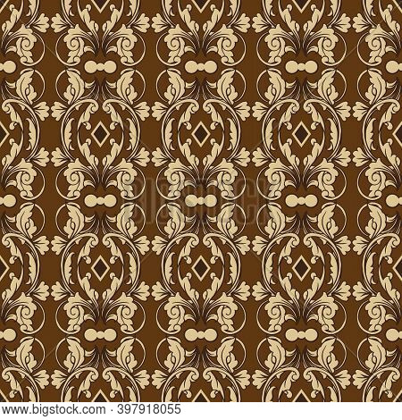 Simple Flower Patterns Design On Solo Batik With Very Good Combination Color Concept.