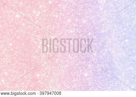 Pastel pink and blue glittery pattern background