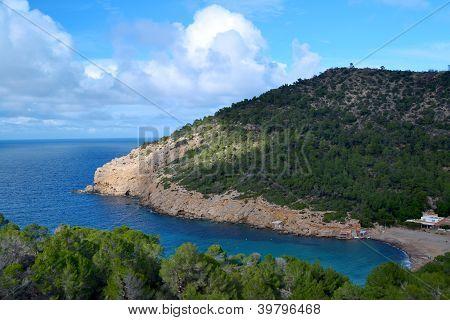 Benirras beach in Ibiza
