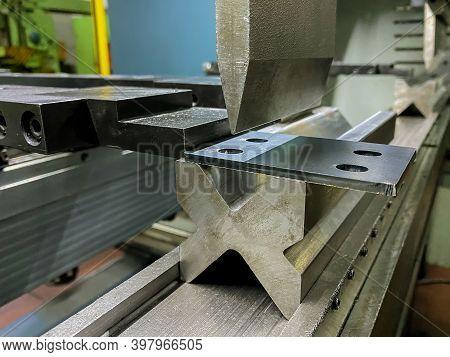 Bending Of Sheet Metal Parts Using A Sheet Metal Bending Machine
