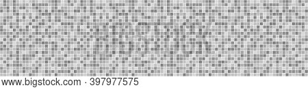 Seamless Pixel Pattern.tiled Background. Seamless Tile Texture With Many Pixels. Black And White Ill