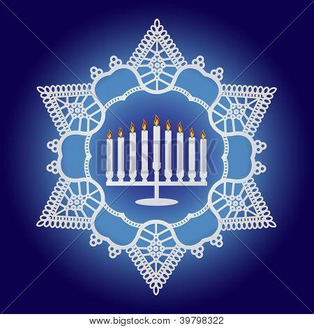 Hanukkah Celebration - Elegant design
