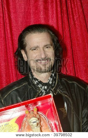 UNIVERSAL CITY - DEC. 4:Bruce Kulick arrives at publicist Mike Arnoldi's birthday celebration & Britticares Toy Drive for Children's Hospital at Infusion Lounge on  Dec. 4, 2012 in Universal City, CA.