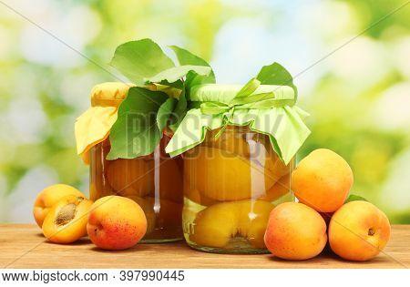 Homemade Vegetables Preservation In Glass Jars. Preserved Food In Glass Jars. Homemade Preserves Mar