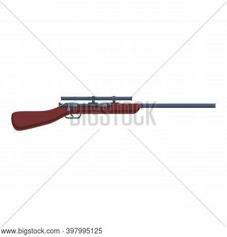 Sniper Weapon Ammunition Icon. Cartoon Of Sniper Weapon Ammunition Vector Icon For Web Design Isolat