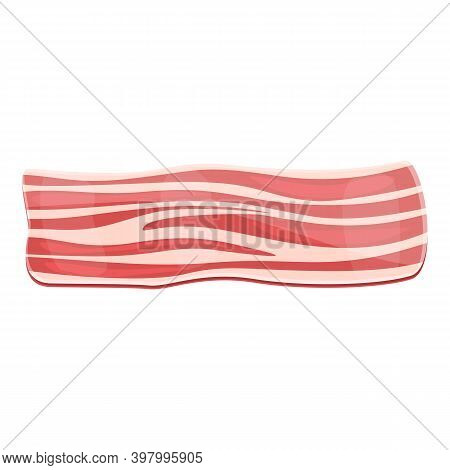 Bacon Brisket Icon. Cartoon Of Bacon Brisket Vector Icon For Web Design Isolated On White Background