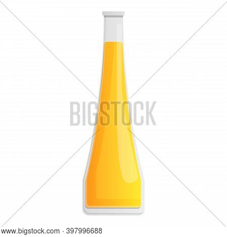 Canola Oil Icon. Cartoon Of Canola Oil Vector Icon For Web Design Isolated On White Background