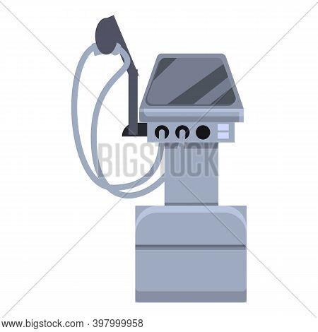 Ventilator Medical Machine Air Icon. Cartoon Of Ventilator Medical Machine Air Vector Icon For Web D