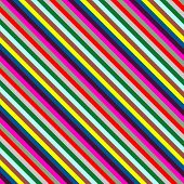 square of diogonal lines in bright colors poster