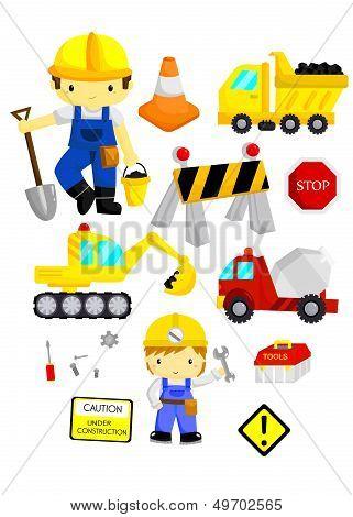 Construction Vector Set