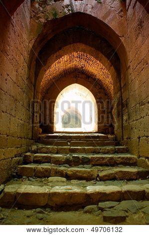 Krak Des Chevaliers Citadel Tower Syria