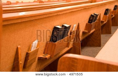 Holy Bibles And The Back Of A Pew