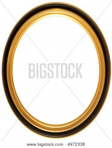 Oval Antique Picture Frame