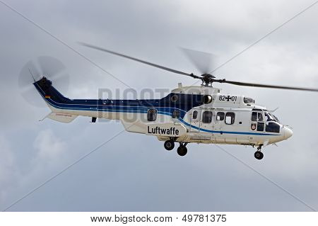 German Air Force Helicopter