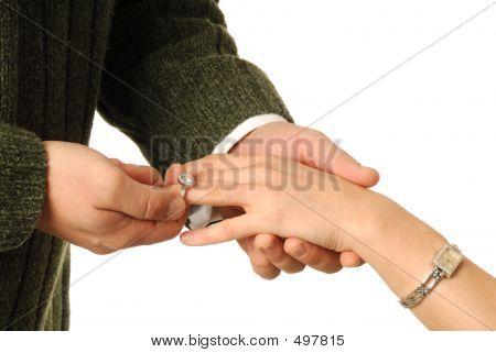 Engagement Ring Presentation