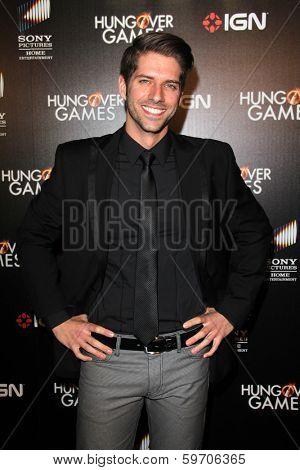 LOS ANGELES - FEB 11:  Ross Nathan at the