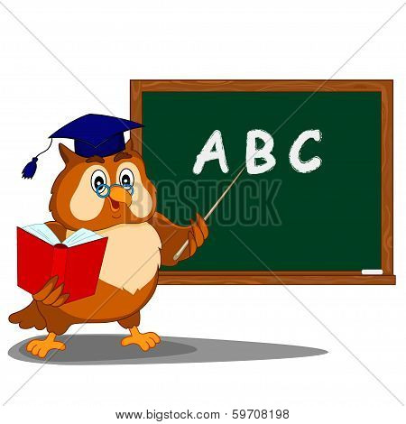 Owl About Blackboard