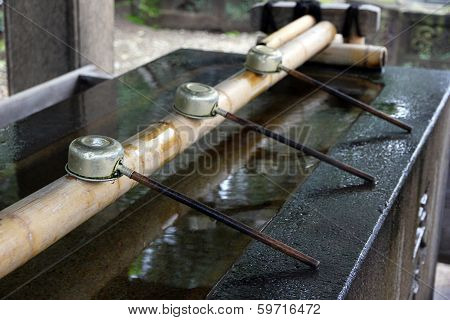 Shinto Shrine Purication Basin.