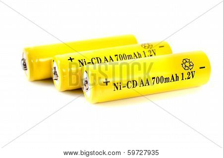 Aa Ni-cd Element. Energy Supply Equipment