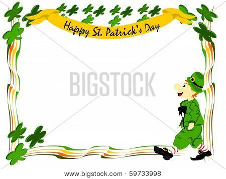 Leprechaun Walk Banner