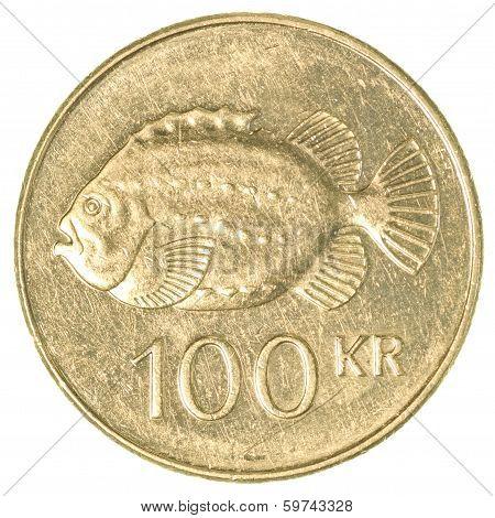 100 Icelandic Krona Coin