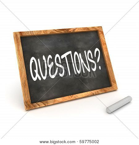 Blackboard Questions