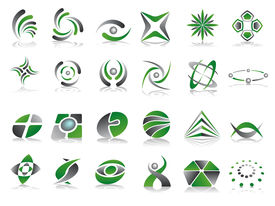 Set of 24 Vector Logo Designs