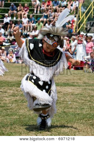 Powwow Grass Dancer