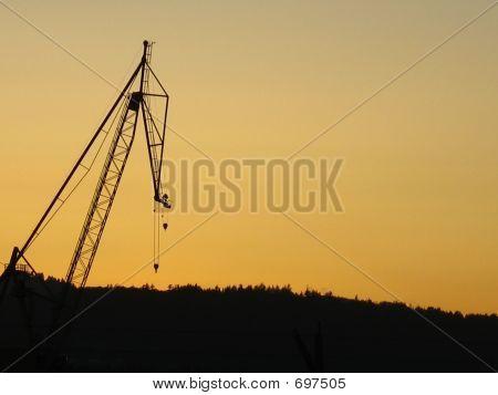 Crane Evening