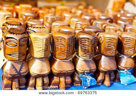 Tiki Figures