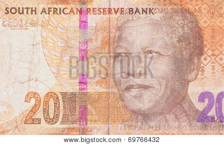Twenty South African Rand