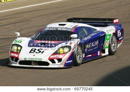 Le Mans Series Saleen S7 racing car