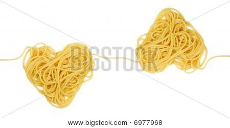 Pasta Heart Sample For Ornament Loop (valintine`s Day Theme)