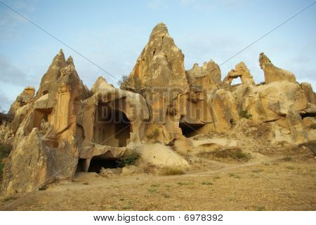 Cave Churches In Cappadocia