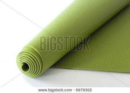 Green Yoga Mat