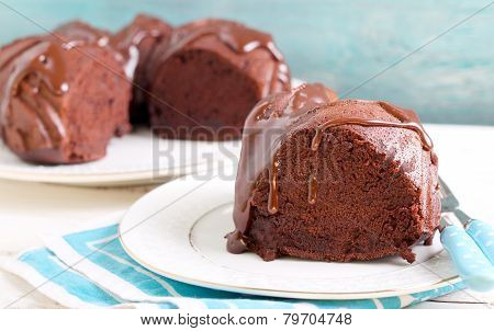 Chocolate Bund Cake