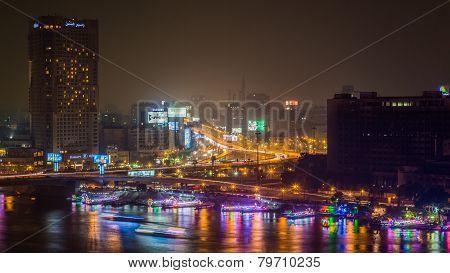 Cairo At Night