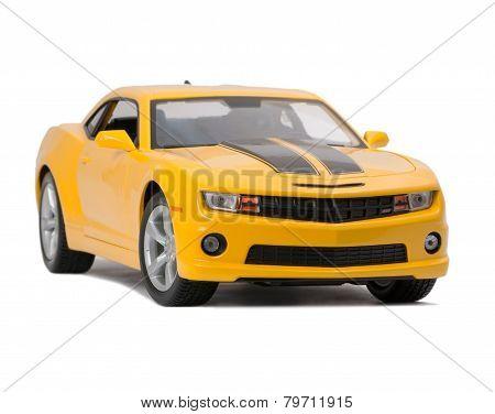 New Yellow Model Sport Car