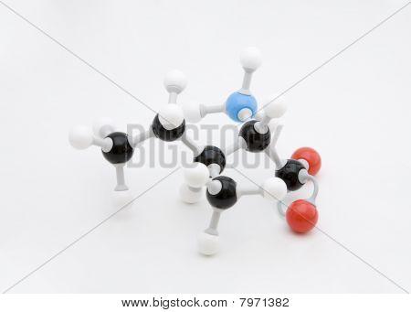 Isoleucine Amino Acid Molecule