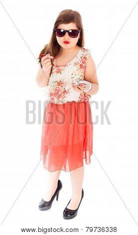 Poser Little Girl