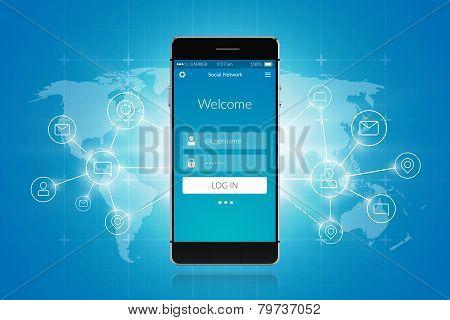 Smartphone Social Network